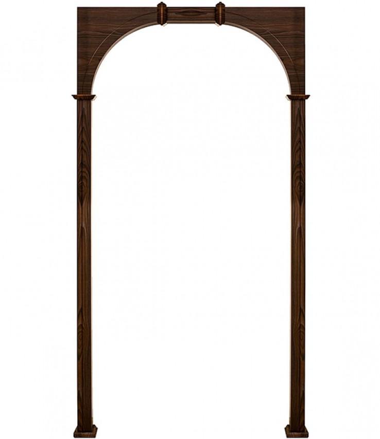 арка прямоугольная расширенная