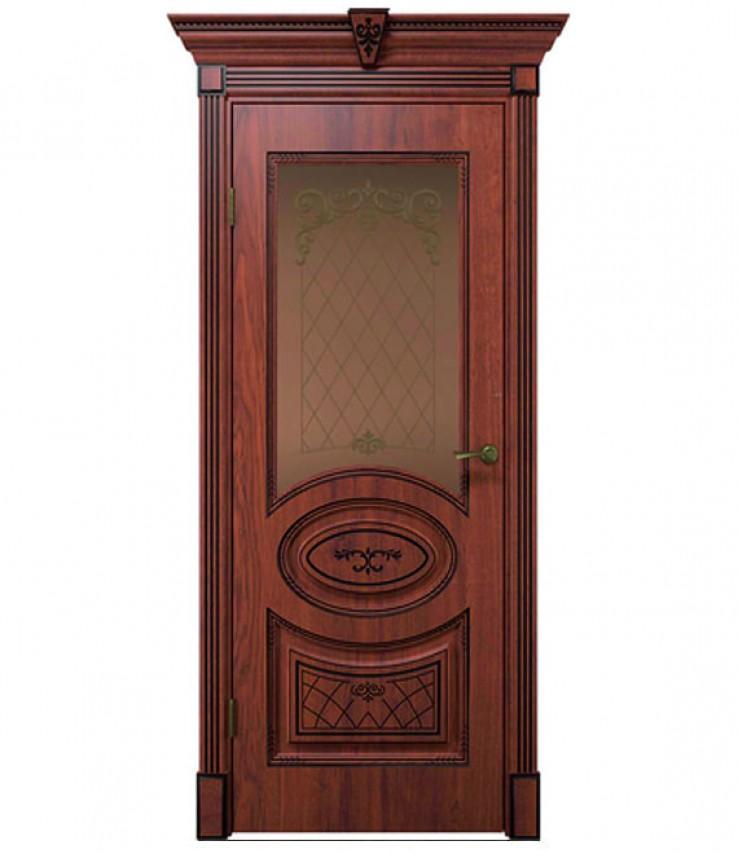 Вителия ПО7100 экошпон, дуб янтарный с черной патиной